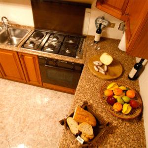 Cucina camera Norcia